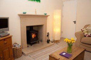 Lawrence Cottage - living room