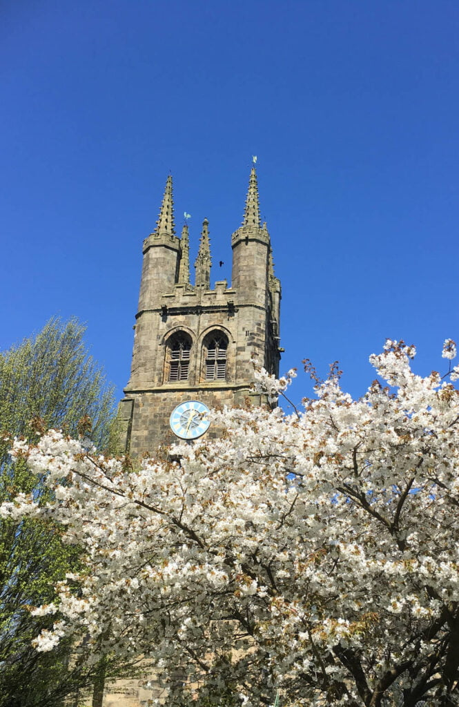 Tideswell Church - the Cathedral of the Peak